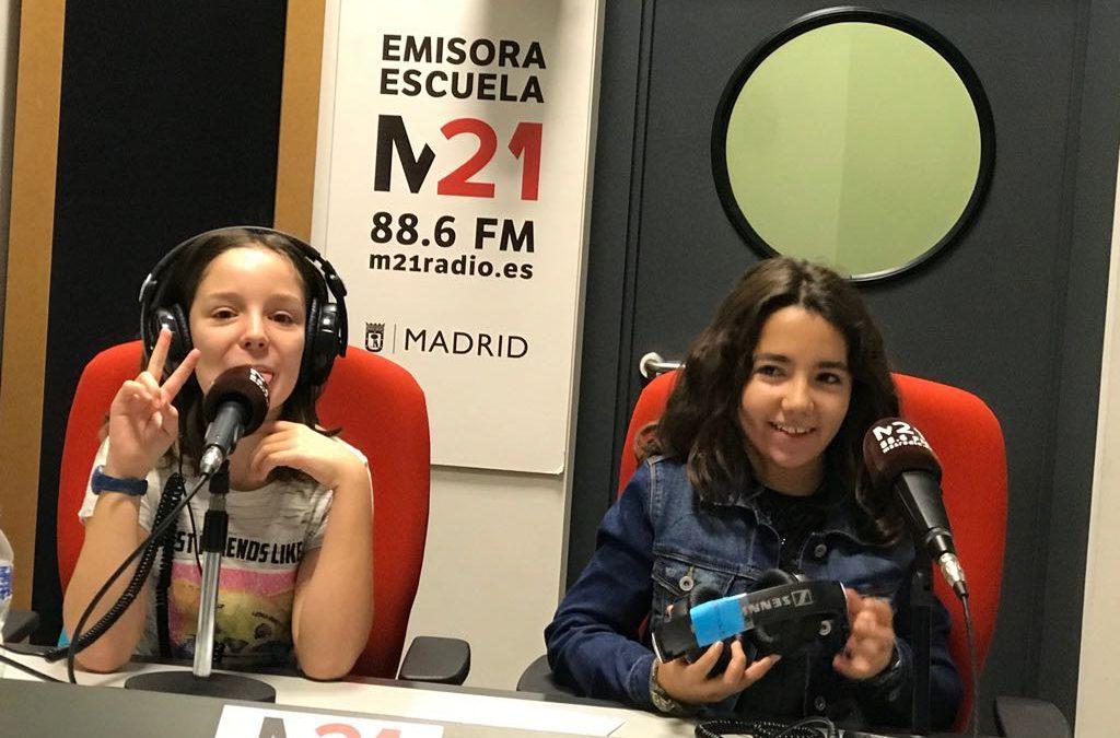 Visita a MRadio21
